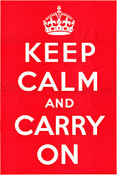 "keep calm Customer Service During an Emergency and How to ""Keep Calm and Carry On"""